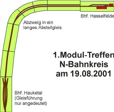 Modulplan für den 19.8.2001